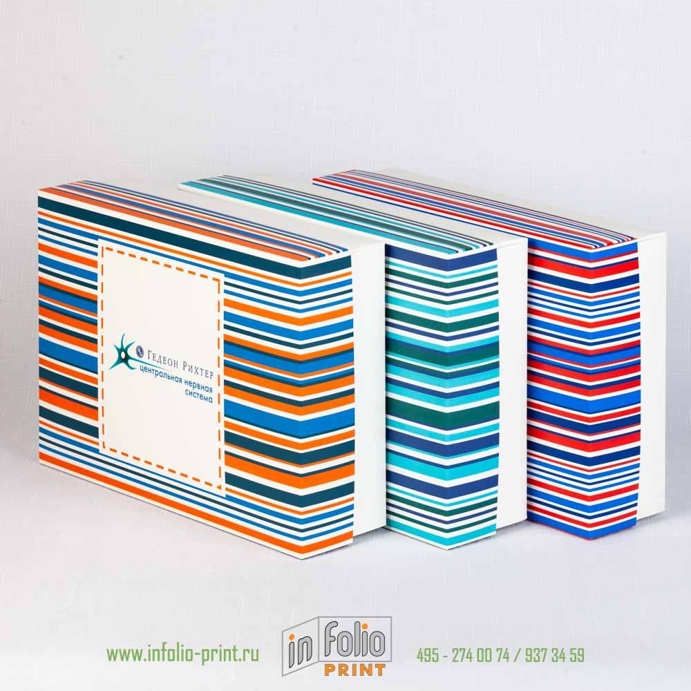 Набор коробок для корпоративных подарков