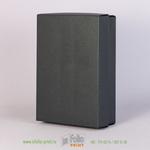коробка крышка-дно цвет черный металлик