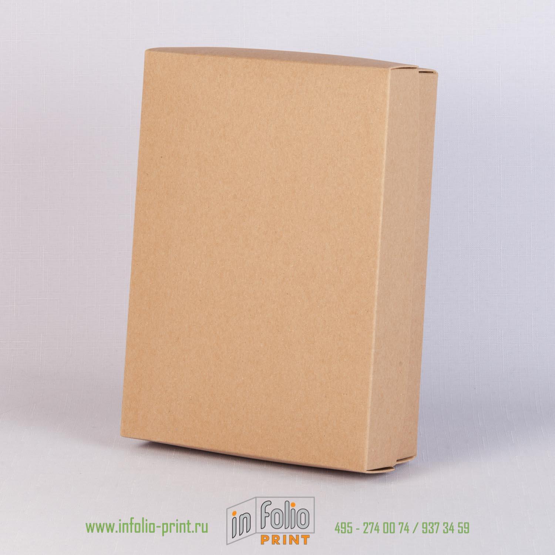 коробка из крафт картона
