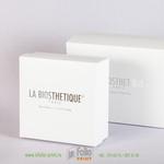 Набор коробок для косметики с серебрянным тиснением