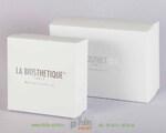 Набор корфобок для косметики с серебрянным тиснением
