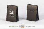 черная матовая коробка для ювелирных изделий