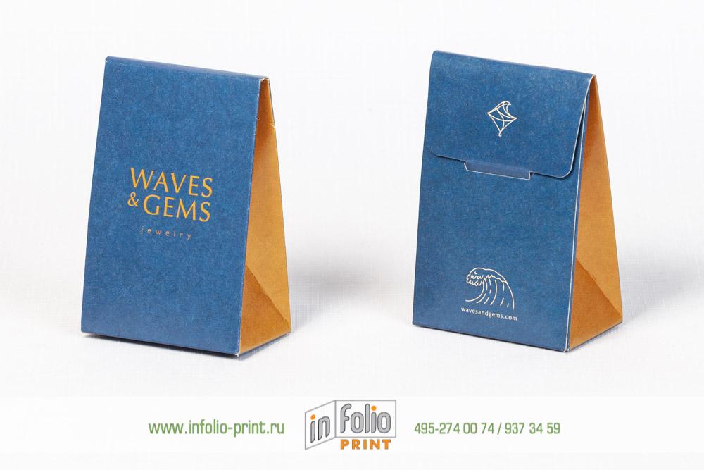 Упаковка сундучок для ювелирных изделий