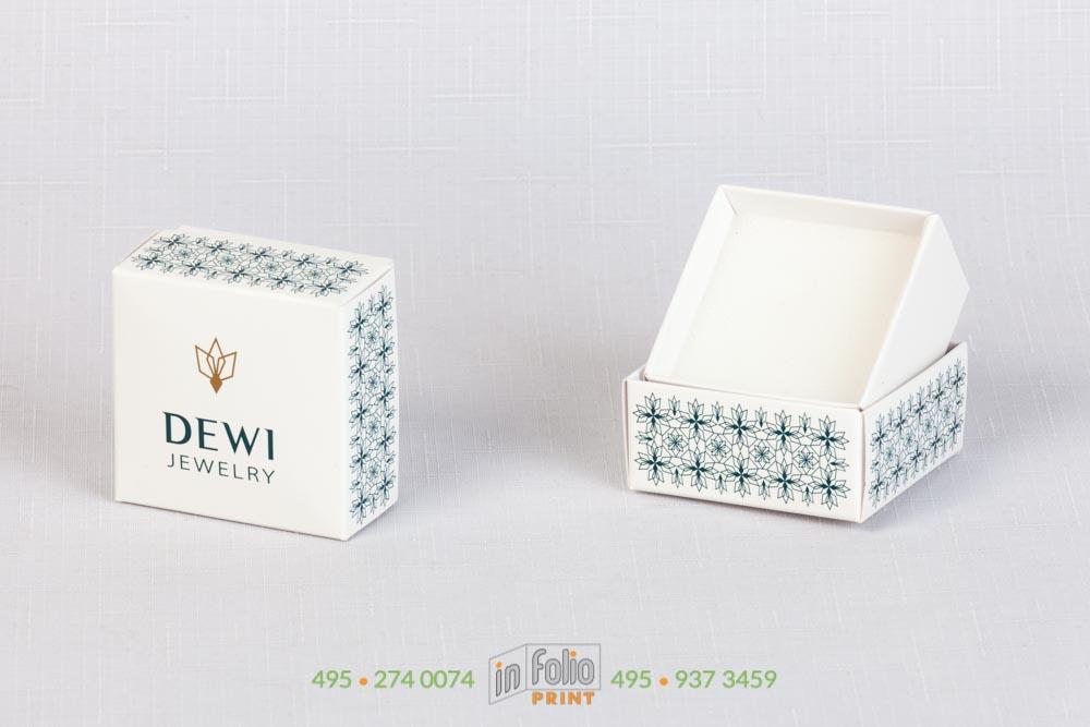 ювелирная коробка с ложементом