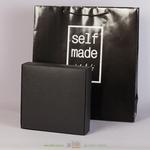 Черная коробка в пакете 200х200