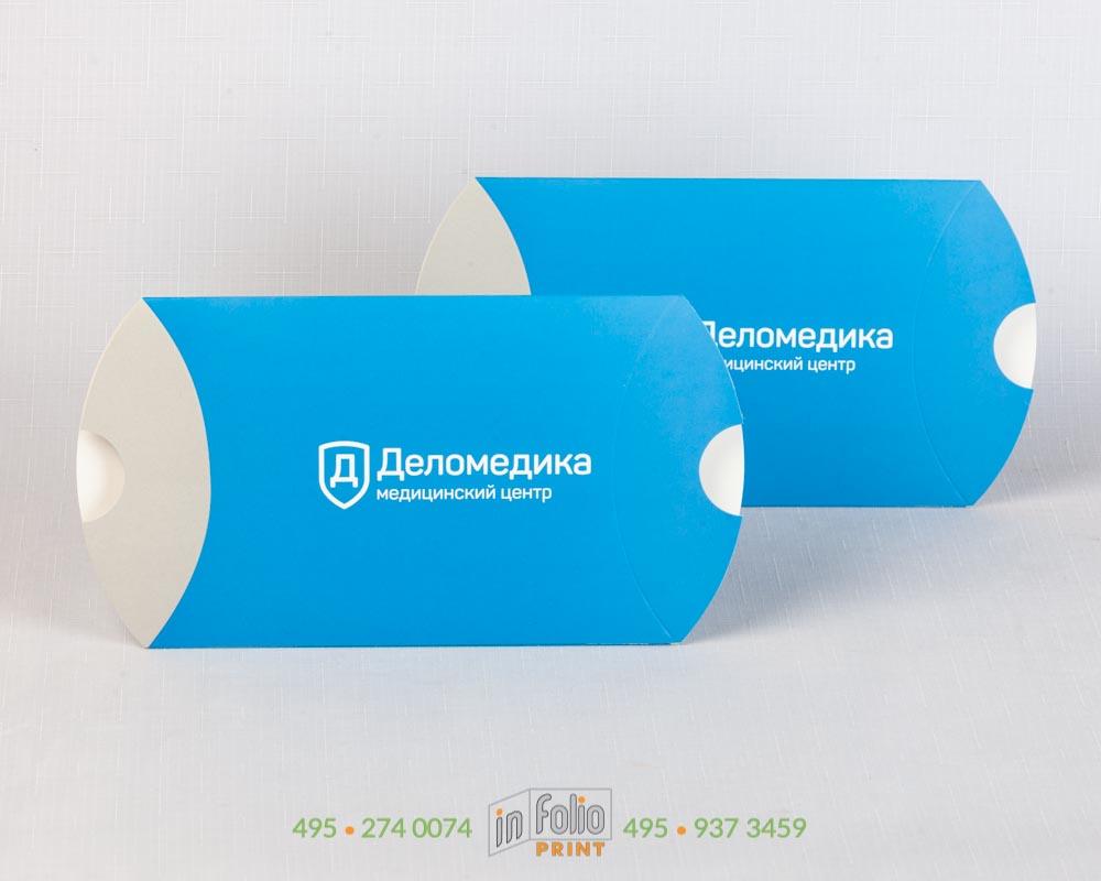 коробка пирожок для стоматологии