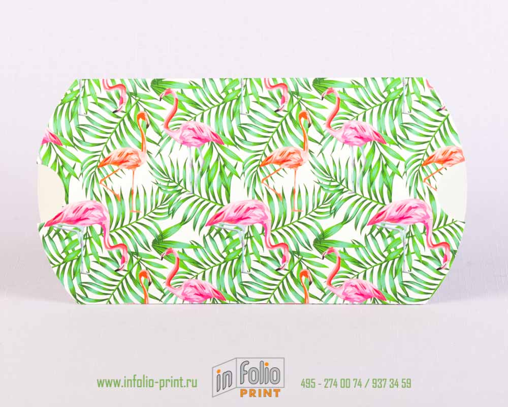 текстура розовый фламинго на упаоквке пирожок