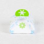 Коробочка из серебрянного маджестика для новогоднего подарка