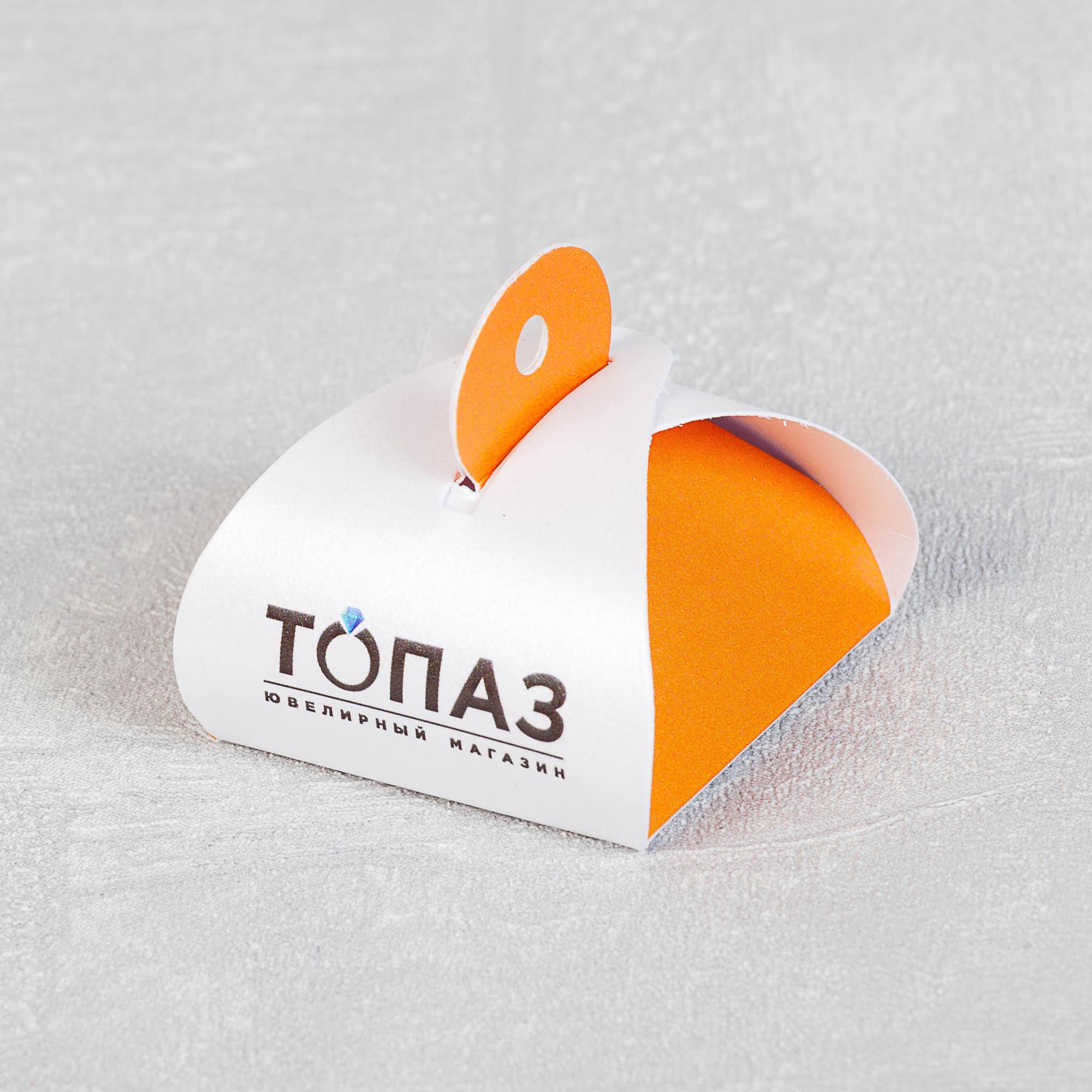 Упаковка для ювелирных украшения завода Топаз