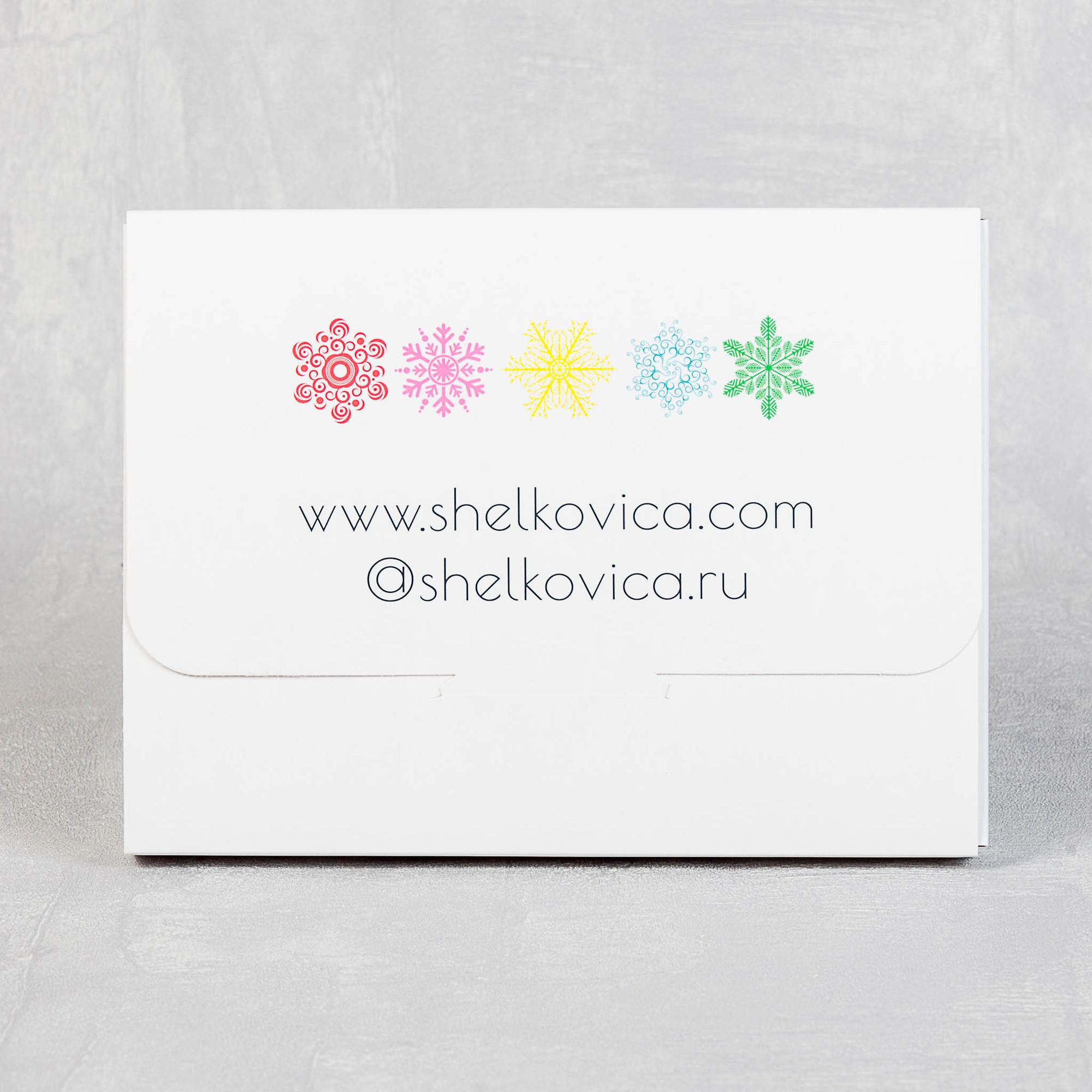 Оьоротная сторона коробки для пилинг варежки