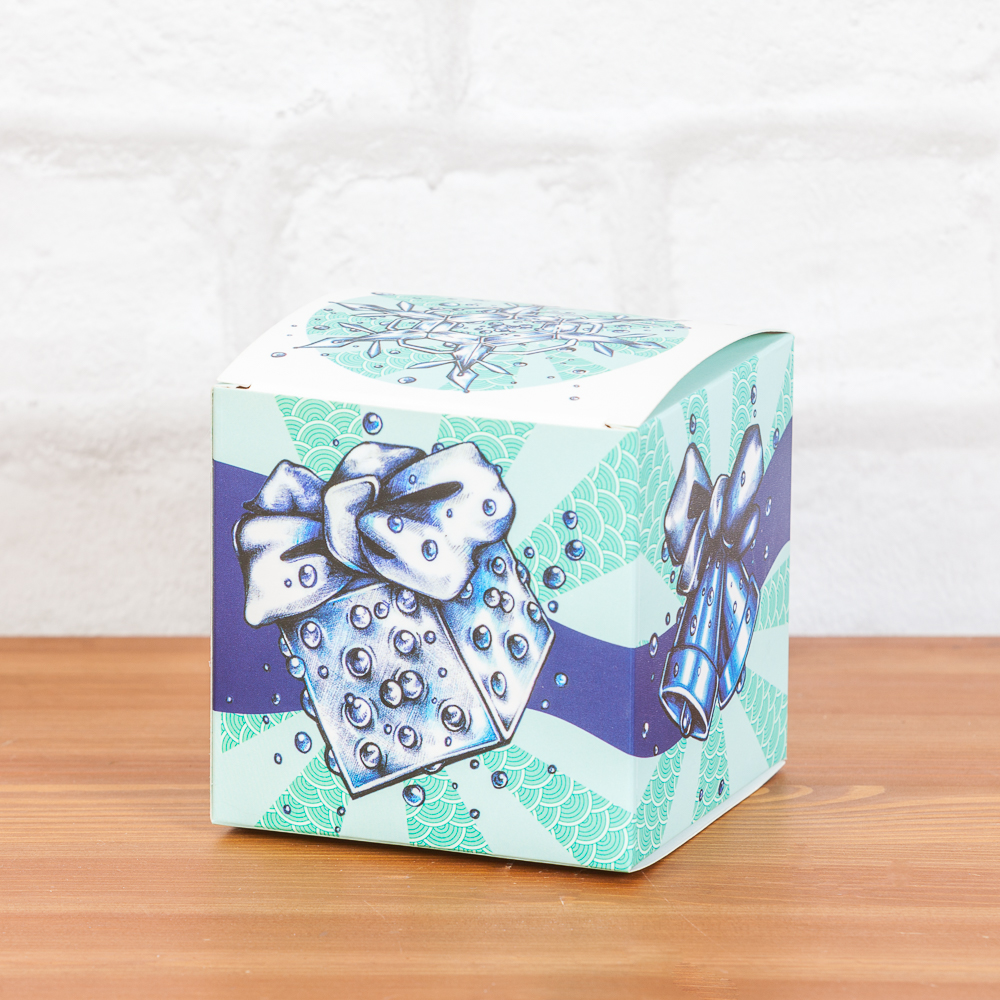 Подарочная коробка под керамическую игрушку