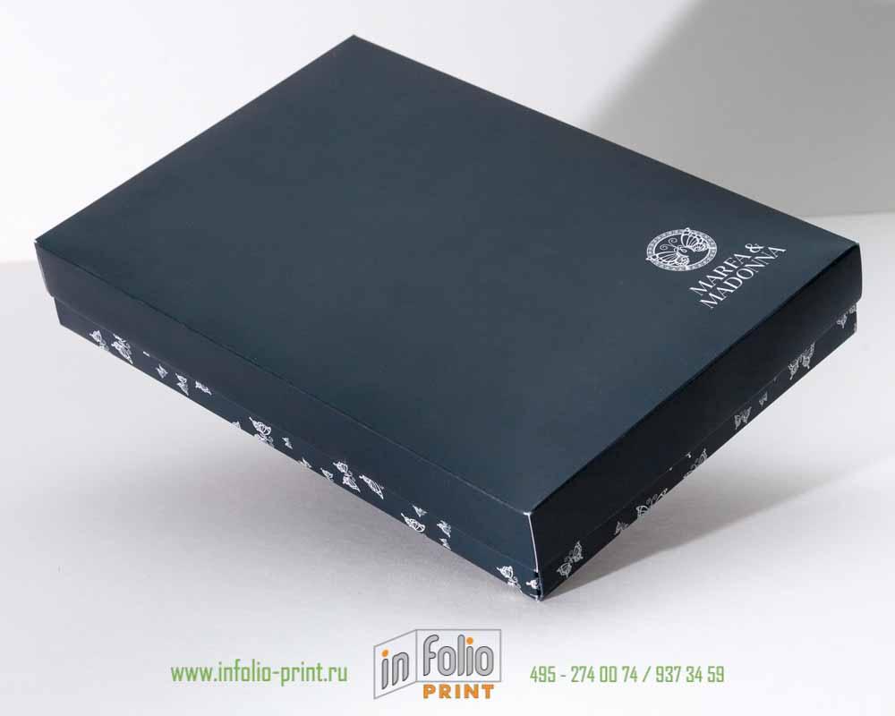 Коробка крышка-дно 25х17х4