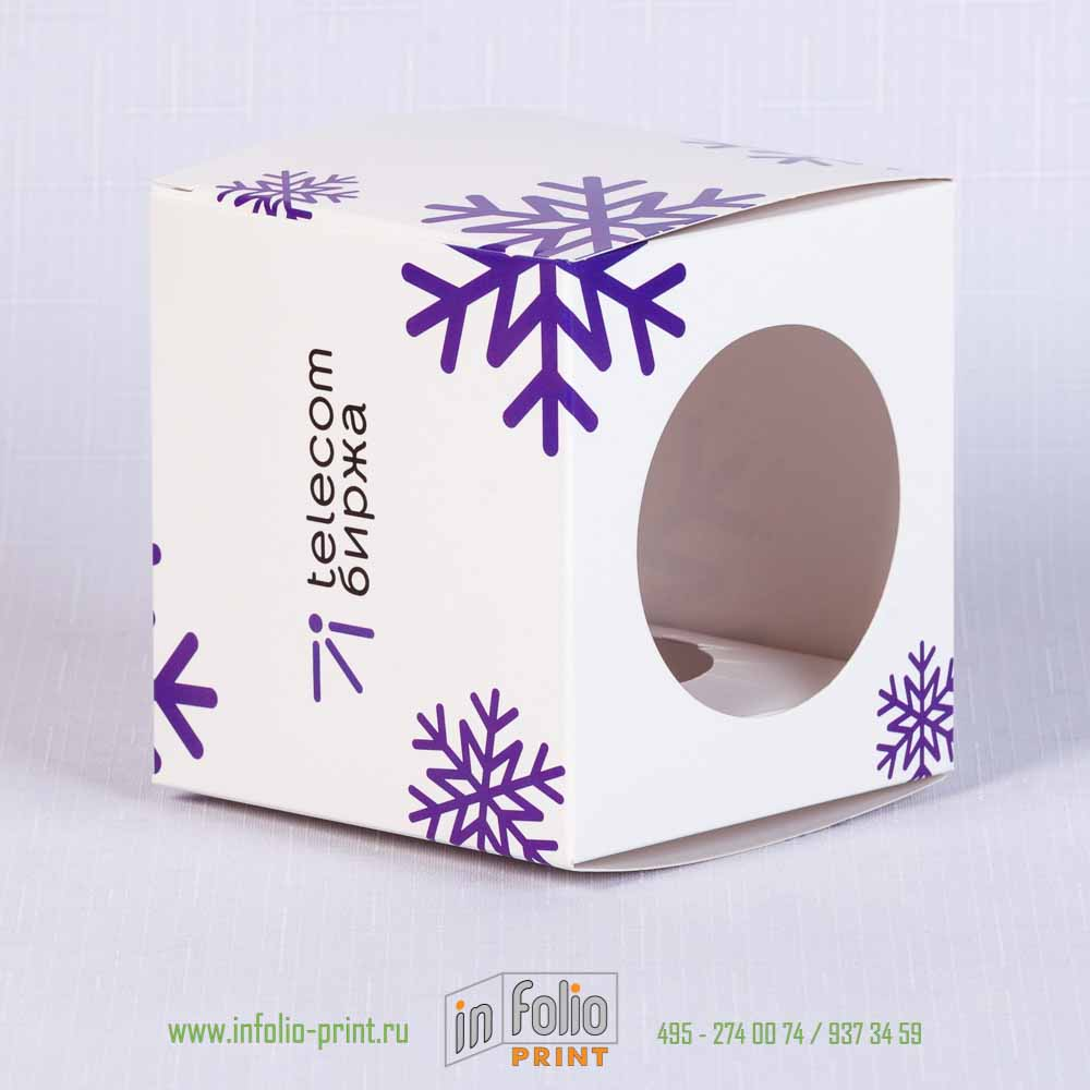Упаковка для елочного шара
