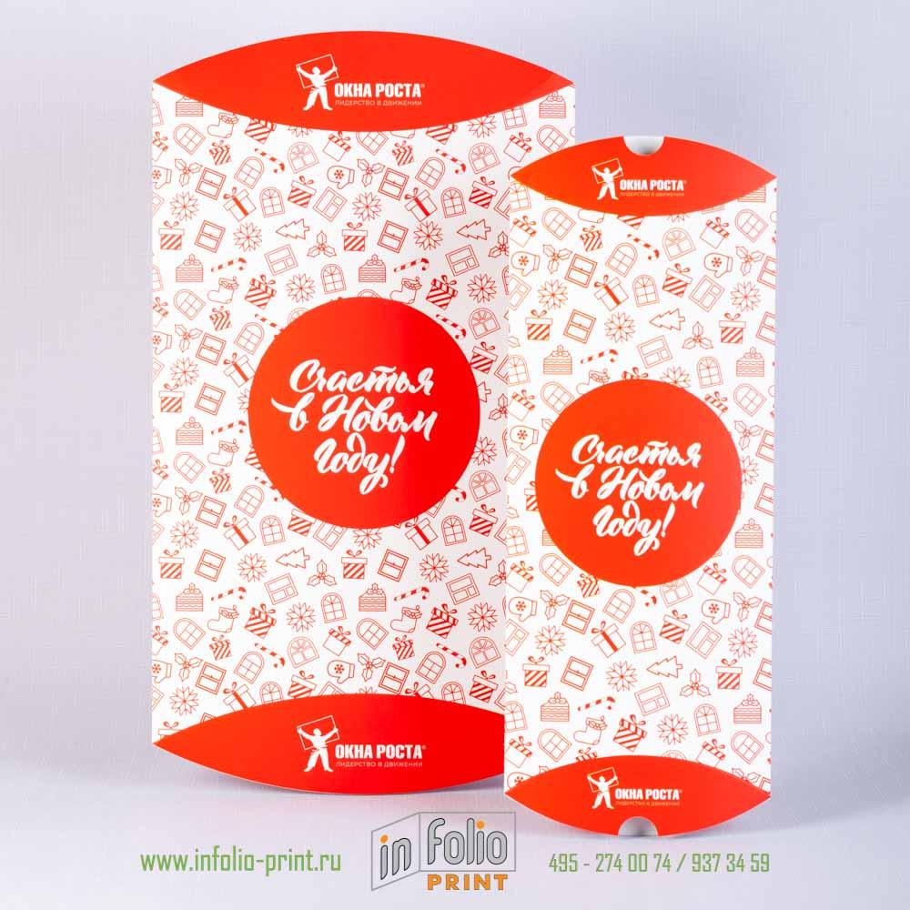 Набор фирменных коробок для Новогодних подарков