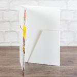 Экспресс папка с приклеянным клапаном