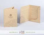 папки из крафт картона