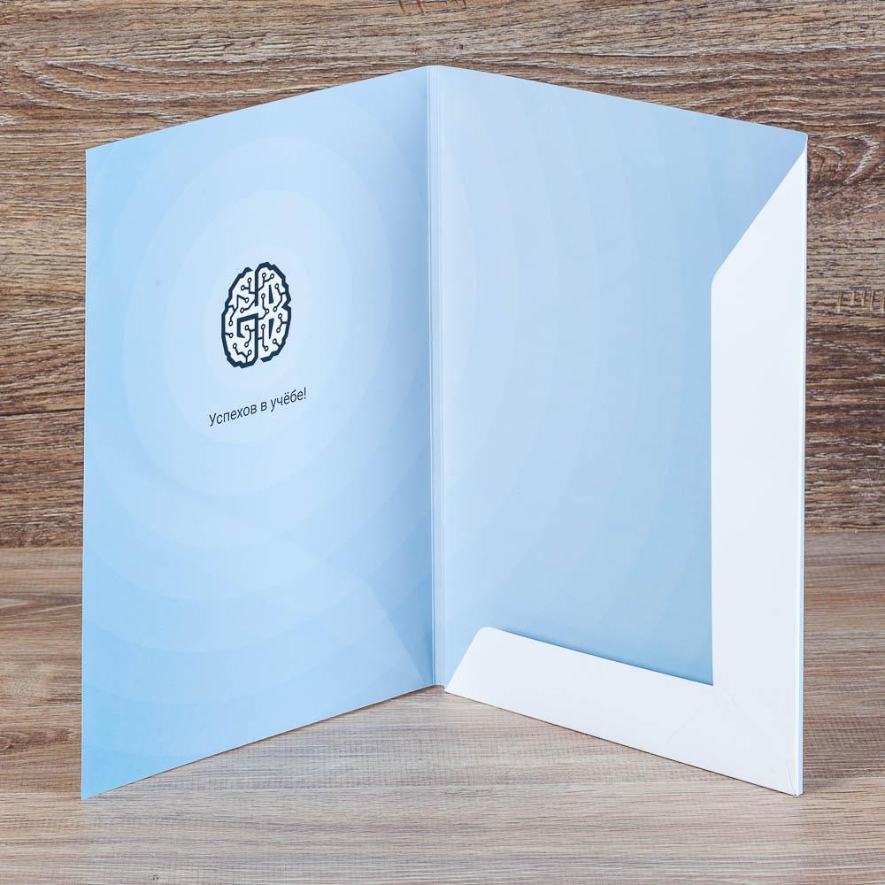 Папка для презентаций с двухсторонней печатью