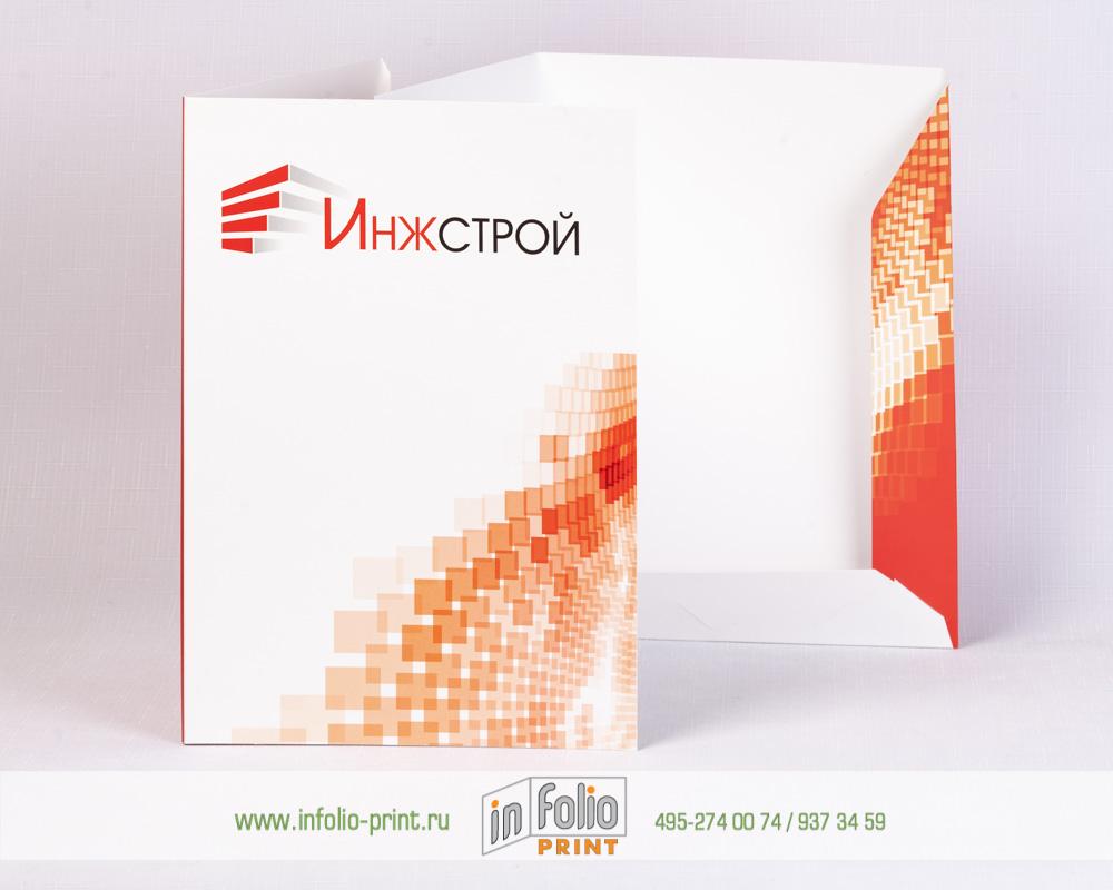 картонная папка для строительной организации