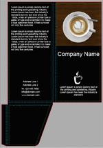 Папка счет для кофейни