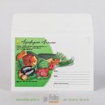 Конверт С6 стандартный из офсетной бумаги 120 г/м2