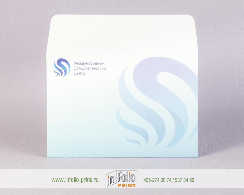 Конверт С6 из мелованной бумаги с матовой ламинацией