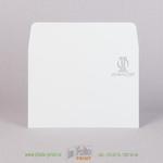 Конверт С6 из офсетной бумаги 160 г/м2, печать серебром