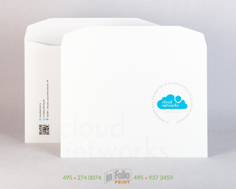 Конверт С4 офсетная бумага 160 г/м2