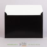 Оборот черного конверта А5