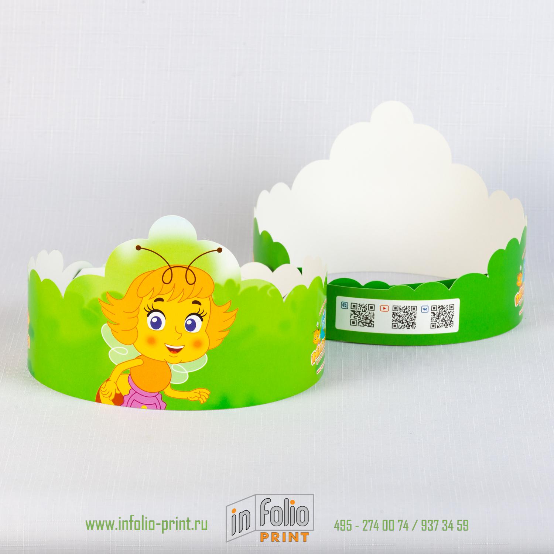Детская корона из картона