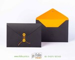 Двухцветный конверт С5 с треугольным клапаном