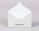 Ламинированный конверт для дисконтной карты магазин с замком
