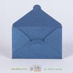 конверт 96х60 мм из темно-синего металлика