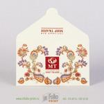 Глянцевый конверт для подарочного сертификата Дом ткани