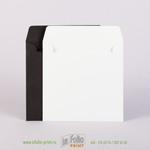 Черные и белые конверты 15х15
