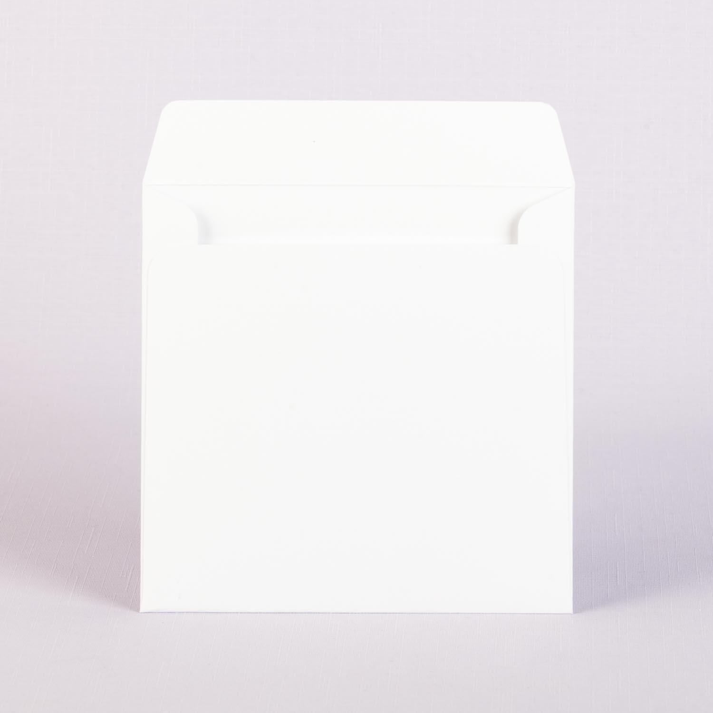 Конверт 15х15 белый с матовой ламинацией