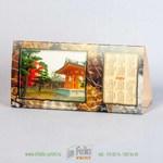 Календарь с фотографиями Японии - подставка на стол