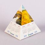 Календарь пирамидка Времена года
