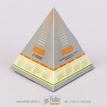 Настольный календарь пирамида
