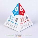 календарь пирамидка софттач