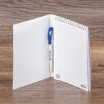 Блокнот А5 с ручкой Barneo