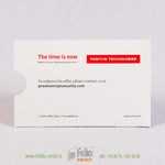 Карман для пластиковой карты из плотной бумаги