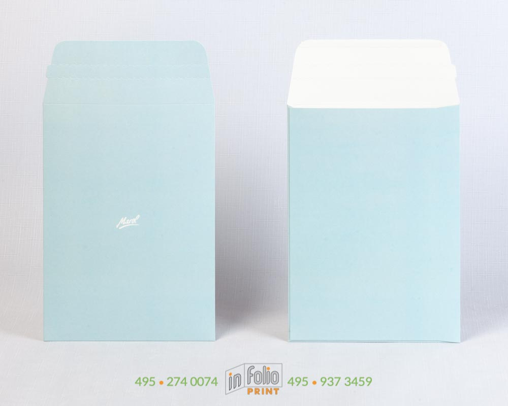 картонный конверт С5 с защитной лентой