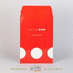 Картонный конверт С5 с отрывной лентой и глянцевой ламинацией