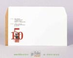 евро конверт из офсетной бумаги 160 г/м2, печать офсетная