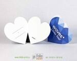 Открытка валентинка для поздравления коллег и партнеров