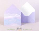 Конверт С6 с треугольным клапано фиолетовый