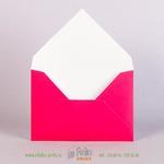 Оборот конверта С6 с матовой ламинацией