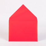 Конверт из тонированной мелованной бумаги, возможен любой цвет