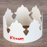 Корона из картона для праздника Комус