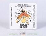 рекламный костер из пивного картона
